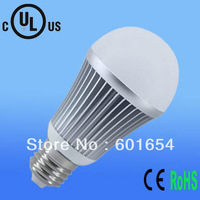 Free shipping ul led bulb (100pcs 8W +100pcs 10W) LED A19 Bulb Dimmable Warm white 3years waranty