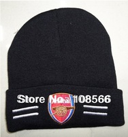 Free shipping Arsenal black hat / wool hat / cold cap