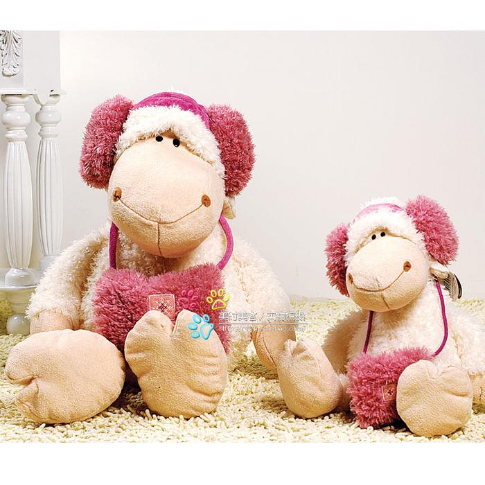 Sheep sheep doll plush toy ear package sheep 1.2 meters(China (Mainland))