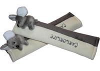 Car koala safety seat belt shoulder pad sets lengthen car safety belt shoulder pad sets car child shoulder pad set
