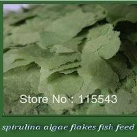 fish food spirulina algae flakes fish feed 150g