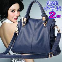 Free shipping new 2013 fashion vintage women handbag crocodile pattern genuine  leather bag shoulder messenger bags for women