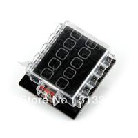 10 Way Circuit Car Automotive ATC ATO Blade Fuse Box Holder 32V
