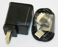 US/EU home wall charger travel charger + Micro usb cable for Samsung Tab 10.1 8.9 7.0 DHL free shipping