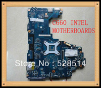 Original Wholesale Satellite C660 laptop motherboard K000112420 LA-6841P ,100%Tested and guaranteed in good working condition