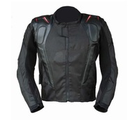 Motorcycle jacket racing jacket motorcycle racing suits send 5pcs/set protective gear