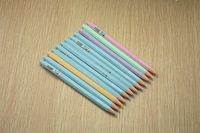 Korean stationery,  gel pen,office pen, 5 color , smooth witting, 0.38mm ,12 pcs/box ,wholesale, free shipping