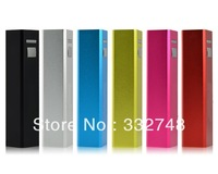 wholesale colorful 2600mAh Mobile Power USB power bank lipstick external battery pack For Mobile Phone