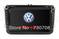 "8"" InDash 2Din Car DVD Player for VW Volkswagen SHARAN SCIROCCO TRANSPORTER T5 with GPS Navigation Stereo Radio Bluetooth TV RDS"
