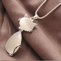 K098 good fashion necklace all-match personality - eye cat necklace lctcause necklace