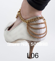 Style L06 Fashion Jewelry Shoe Chain Foot Chains Body Chain 2 Colours