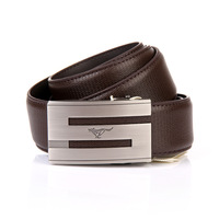 Septwolves brand genuine leather belt for men free shipping