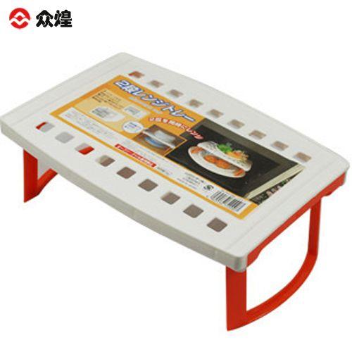 Microwave oven heated rack dish storage rack plastic shelf shelving(China (Mainland))