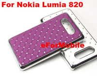 Hard Case Mobile Phone Case Back Cover Aluminum Hard Case  for Nokia Lumia 820