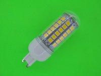 HOT NEW Mini G9 5050 69 LED Lamp 12W LED Corn Bulb 1100LM Cold white / Warm White 360 Degree Light Bulb Lamp Free shipping