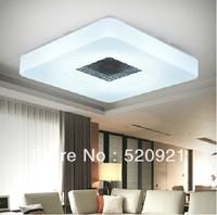 Free shipping 15W D250mm Modern led ceiling light square acrylic light balcony entranceway lamps cafe light Bar light club lamp
