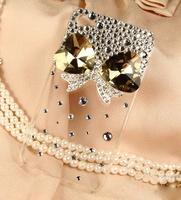 Big bow diamond phone shell
