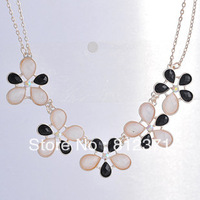 min order is $10 (can mix order) Fashion drop 2013 metal necklace fashion female short design necklace