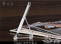 free shipping WHITE Crystalline Lady Ball pen Ball Point Ink Writing Pen (NEW)