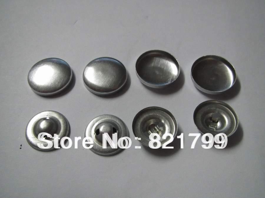 40L fabric cloth button aluminium cap fabric covered button(China (Mainland))