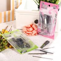 777 nail art manicure toiletry kit plier earpick sew-on clip