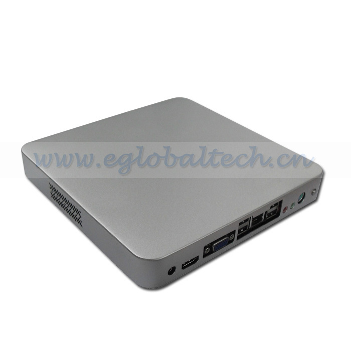 4 USB Thin Client PC Desktop Computers HD Mini PC Cloud Computer Intel D2500 CPU 2GB DDR3 160GB HDD(China (Mainland))