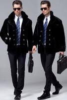 Statehood sheepskin wool one piece genuine leather clothing male fur coat fur one piece men's clothing fur male