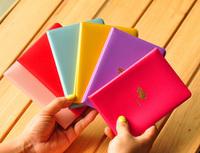Korea stationery hornier short design travel passport holder passport cover 6 55g