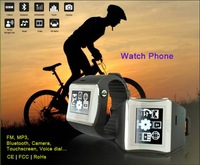 "EC700 Waterproof Sport Watch Mobile Phone With FM,MP3,1.5""Touch Screen,Bluetooth,Video Player,Voice Dial smart mobile phone"