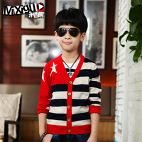 Autumn children's clothing autumn 2013 big boy sweater cardigan cm9a12 child sweater male child  Autumn -Summer Supernova Sale
