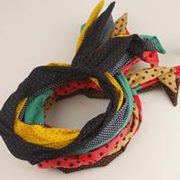 Cotton nerong rabbit ears lovely material headband hair bands hair accessory hair accessory