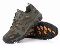 High quality male shoe 2014 new brand fashion genuine leather outdoor creepers hiking shoes man