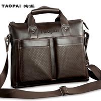 2013 man bag/ casual business  handbag briefcase male shoulder bag/ messenger bag/free shipping