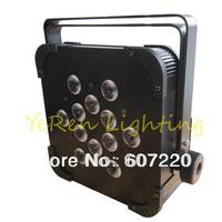 par light flat par light &slim par  12*4W  RGBW 4 colors in 1   for disco & KTV light&DJ party stage lighting