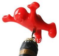 Novelty Sir Perky's Wine Bottle Opener Happy Man Corkscrew