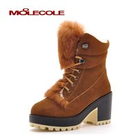 2013 street martin boots fashion pedicure thermal boots comfortable thick heel platform boots