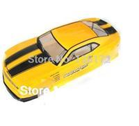 1:10 RC Car  PVC painted Body Shell  1/10 RC car 190mm 046 yellow free shipping