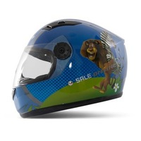 T866 Children's Motorcycle Helmet Madagascar Safety Helmet for Boy Cute Full Face Kids' Helmets 4 colors Free Shipping S7101