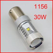 HotSale 2pcs/lot super brightness High Power 1156 led, 30W CREE XBD p21w led, ba15s Reverse Tail Light Bulb Lamp White(China (Mainland))