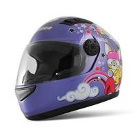T866 Children's Motorcycle Helmet Cartoon Safety Helmet Cute Full Face Kids' Helmets 5 colors Free Shipping S7100