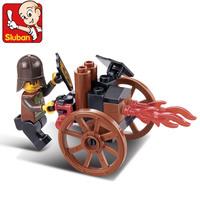 Lubanjiang small plastic insert toy futhermore child assembling building blocks