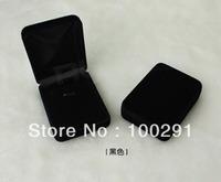 FreeShipping!!!    Wholesale   20pcs    black   flocking pendant box    jewelry  box  &  80*60*25mm