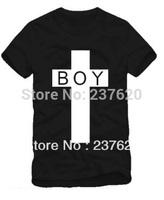 Free shipping 2014 new arrival boy london cross printed t-shirt london boy t shirt 100% cotton short sleeve t shirt 6 color