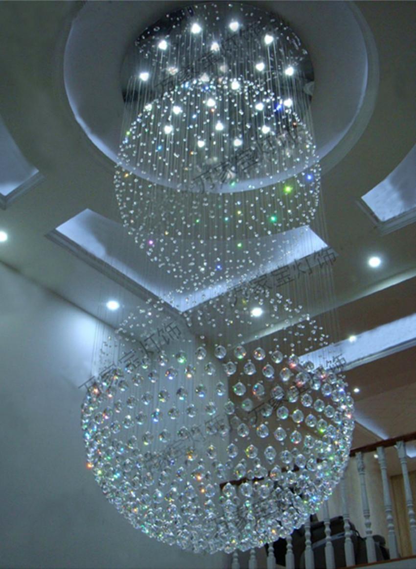 Verlichting Grote Woonkamer : Kopen wholesale grote plafond hanglamp ...