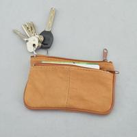 Sheepskin short design wallet genuine leather key card 2013 fashion coin purse