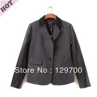 2013 fall new Korean version of large size women's boutique wholesale trade of the original single-coat M1414