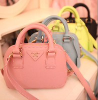 2014 women's hand cross candy color shell bag women's bag one shoulder cross-body portable small bag