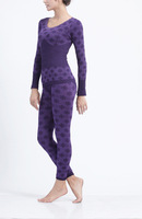 Free Shipping Women's long johns long johns set lace slim beauty care seamless thermal underwear