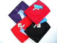Free Shipping Body shaping slim beauty care cotton sweater thermal underwear long johns long johns set women's