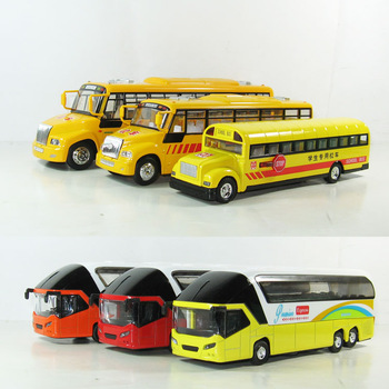 American style school bus model alloy WARRIOR car school bus toy yellow school bus acoustooptical